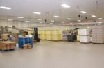 Clean egg-packing room
