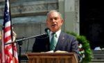 of Democratic presidential candidate Michael Bloomberg