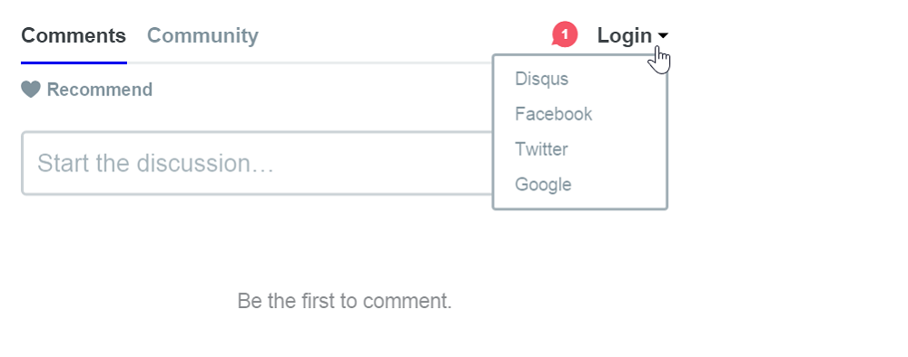 Disqus comment tool on wattagnet