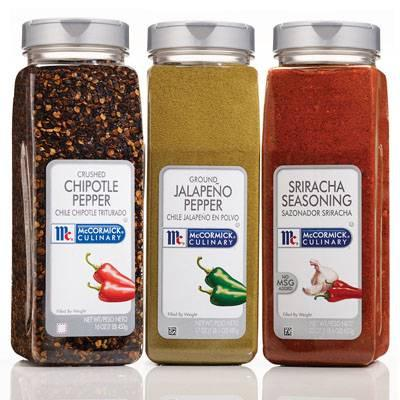 McCormick For Chefs chile spices and seasoning blends