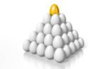 pyramid of eggs