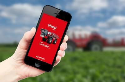 Agrifac visual guide app