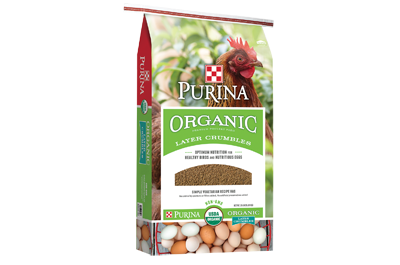 Purina Animal Nutrition Organic Layer Crumbles