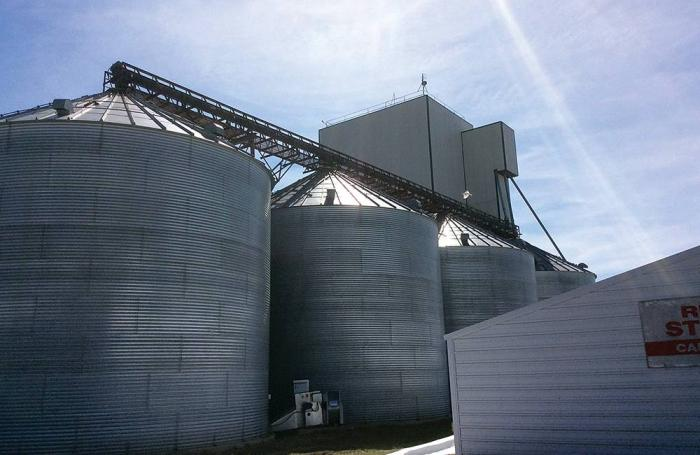 Interstate Commodities feed mill