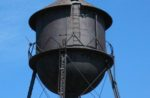 Farbest Foods gray water tower