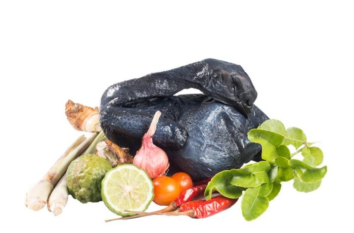 Black-chicken-with-veggies