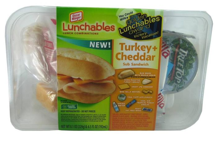 turkey-lunchable