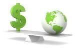 Dollar-and-earth-balance