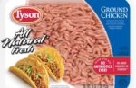 Tyson ground chicken