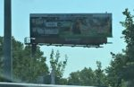 A Natural Grocers billboard in Kansas City, Missouri.