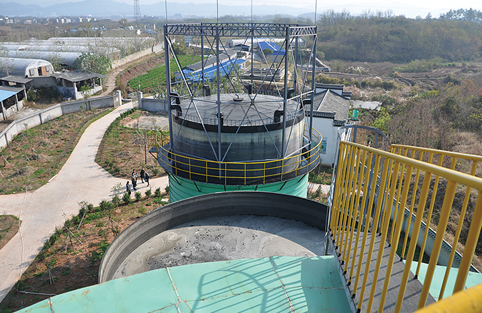 biogas engineering plant in china