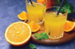 fresh organic orange juice