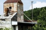 abandoned feed mill