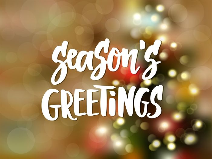 Seasons-greeting