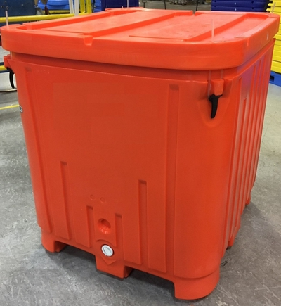 Saeplast DXS335 temperature control bulk fish transport box