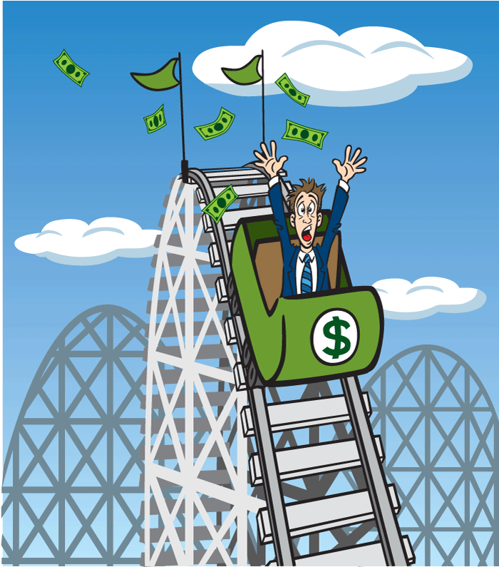Financial-rollercoaster