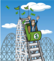 financial rollercoaster