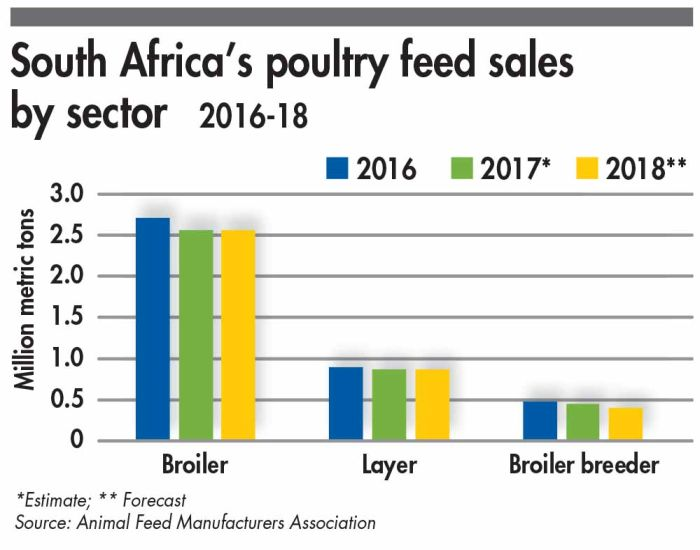 South African feed sales down as poultry sector suffers | WATTAgNet