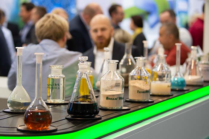 EuroTier 2018 science beakers