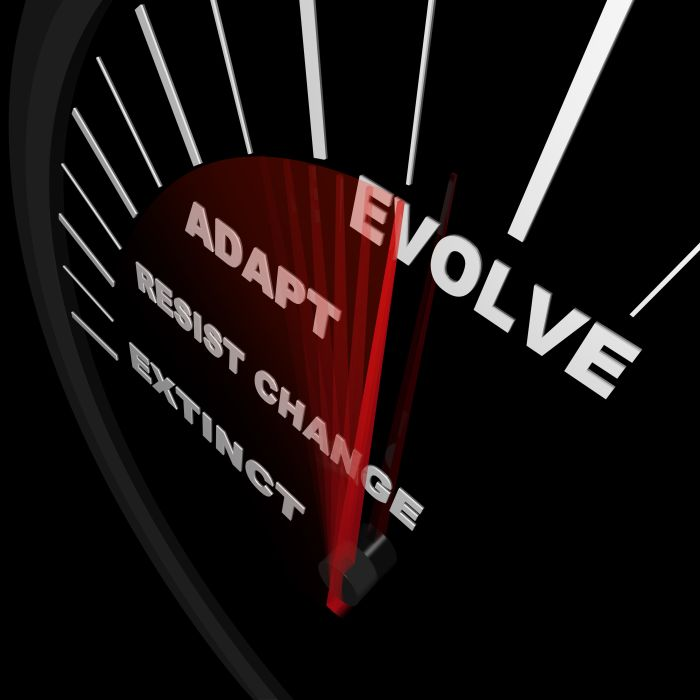 Evolve-adapt-change