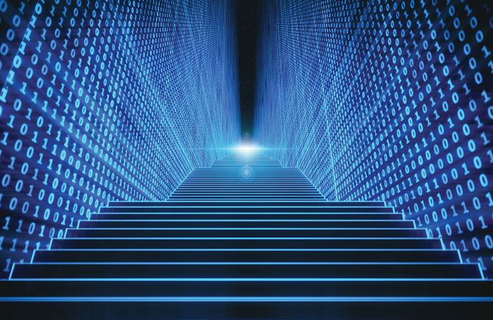 virtual-stairs-computer-binary-code