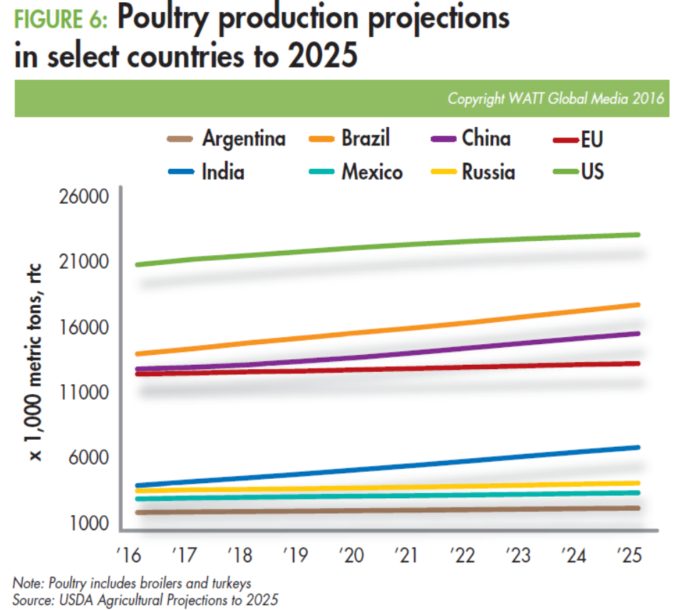 Poultry-production-projections-in-select-countries-to-2025