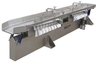 Key Technology Iso-Flo vibratory conveyor