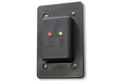 Osborne Industries heat pad indicator light