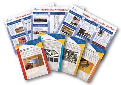 Aviagen flock management ventilation posters and documents