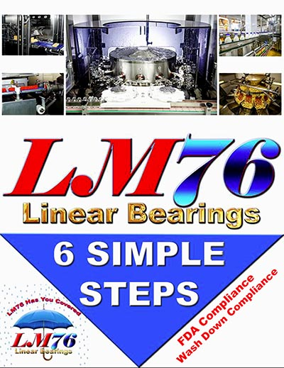 LM-Tarbell LM76 linear bearings guide