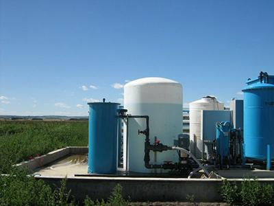 Livestock Water Recycling manure treatment system