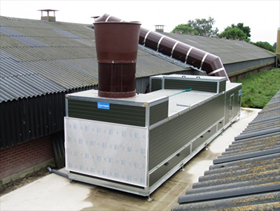 Vencomatic Group Agro Supply Clima+ 200 heat exchanger