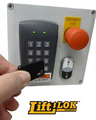 Wildeck LiftLok safety system
