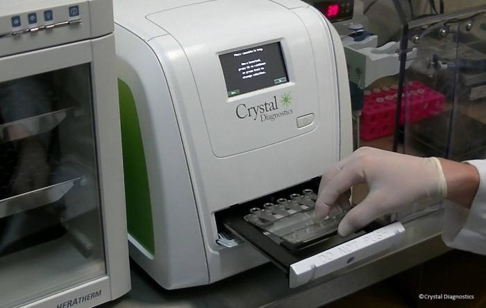 crystal diagnostics press release